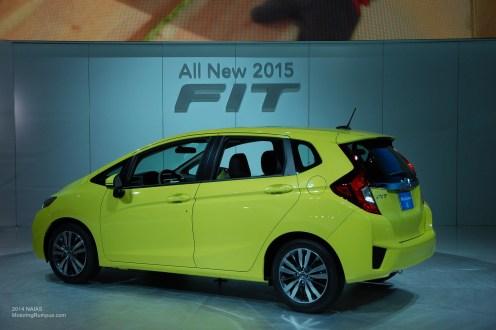 2014 NAIAS Honda All New 2015 Fit