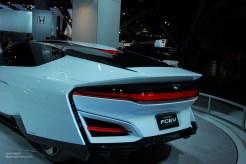 2014 NAIAS Honda FCEV Concept Rear