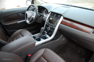 2013 Ford Edge Sienna Interior