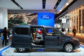2014 NAIAS Ford Transit Connect Titanium Wagon