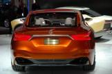 2014 NAIAS Nissan Sport Sedan Concept Rear Bumper