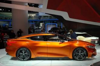 2014 NAIAS Nissan Sport Sedan Concept Side