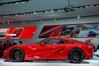 2014 NAIAS Toyota FT-1 Concept Side