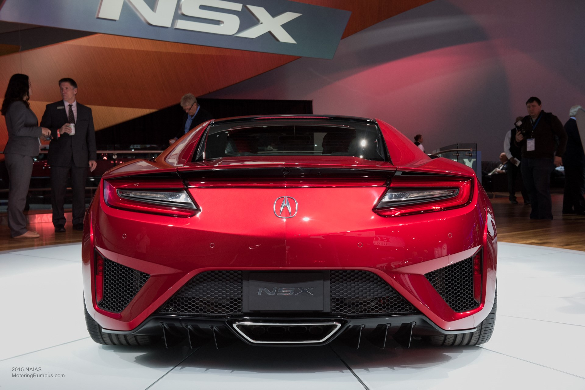 naias 2015 acura nsx motoring rumpus. Black Bedroom Furniture Sets. Home Design Ideas