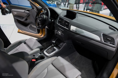 2015 NAIAS Audi Q3 Interior