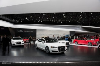 2015 NAIAS Audi White