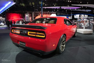 2015 NAIAS Dodge Challenger SRT Hellcat Rear
