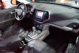 2015 NAIAS Jeep Cherokee Trailhawk Interior