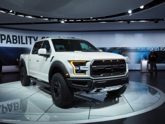 2016 NAIAS 2017 Raptor