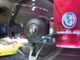 2016 NAIAS Alfa Romeo Giulia Steering Wheel