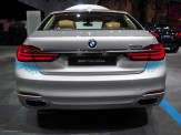 2016 NAIAS BMW 740e xDrive Rear