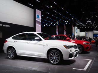 2016 NAIAS BMW X4 M40i