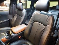 2016 NAIAS Lincoln MKX Black Label Thoroughbred Interior