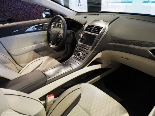 2016 NAIAS Lincoln MKZ Interior