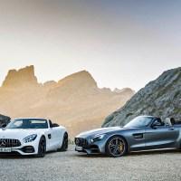 Mercedes-AMG revela GT e GT C Roadster
