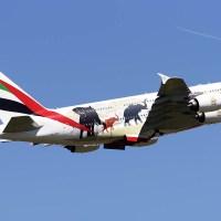 Emirates lança rota mais curta para um Airbus A380