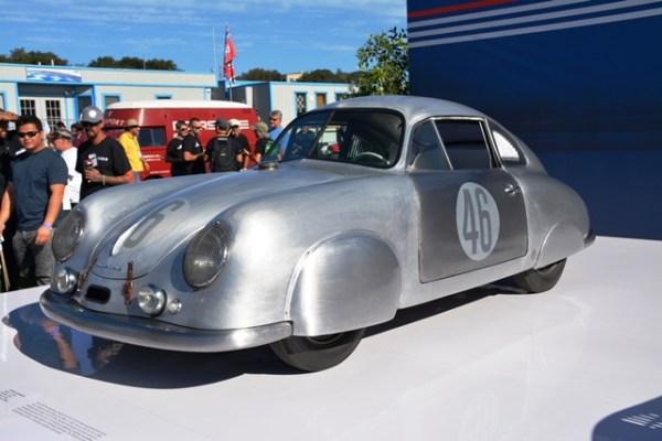 El 356 SL de 1949: ganador de su gategoría en Le Mans en 1951.