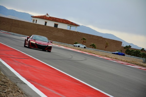 2017 Acura NSX Andres O'Neill photo 16