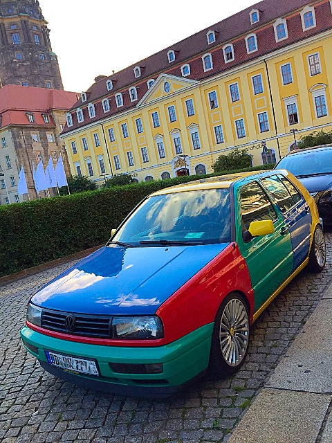 Volkswagen VW Golf Harlequin Harlekin Andres O'Neill photo 01