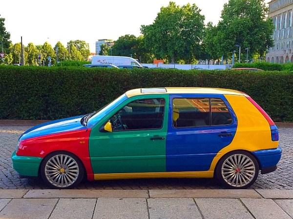 Volkswagen VW Golf Harlequin Harlekin Andres O'Neill photo 05