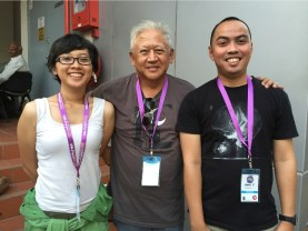 Nadia dan Yandi bersama Mr. Pramote sketcher senior Bangkok