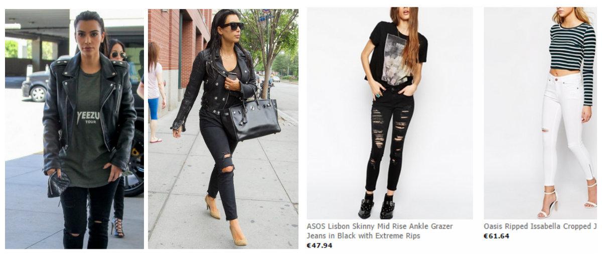 Jeans met gaten ( ook plussize)
