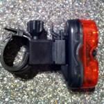 Astrum rear light on mount
