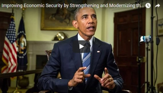 President Obama's Weekly Address: Improving Economic Security by Strengthening and Modernizing the Unemployment Insurance System