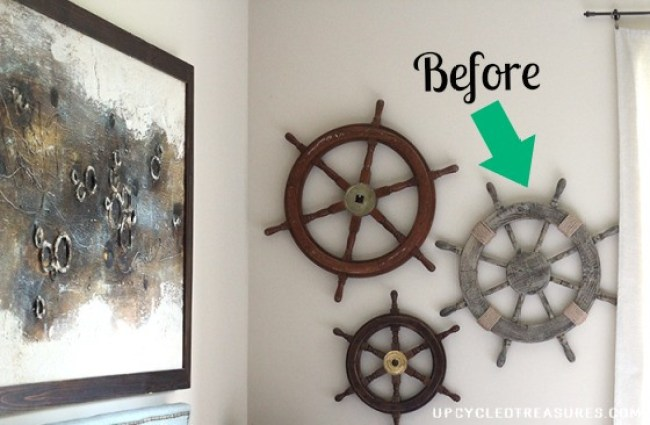 10 DIY Christmas Wreath Ideas - Check out my DIY Nautical Christmas Wreath as well as Christmas Wreath Inspiration from 9 other fantastical bloggers!