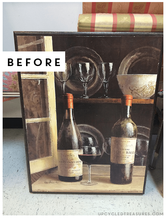 how-to-make-an-upcycled-marquee-sign-before-photo-upcycledtreasures