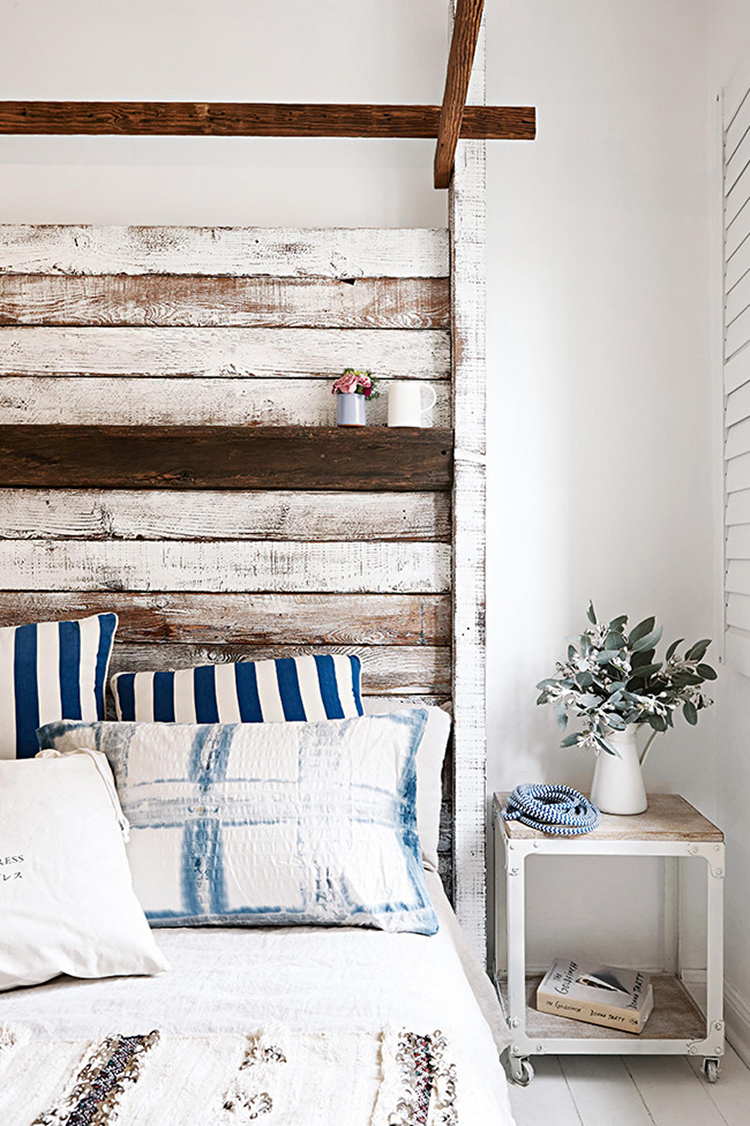 Rustic inspired headboards for Chambre champetre