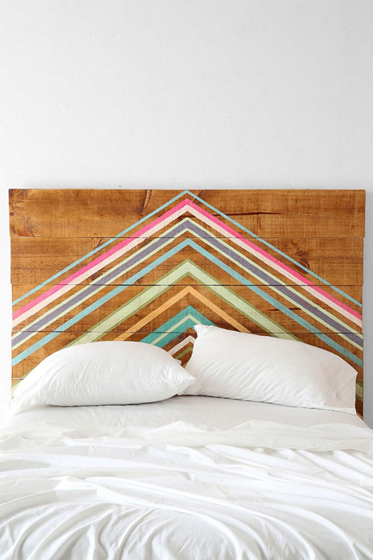 Rustic inspired headboards for Painting a headboard