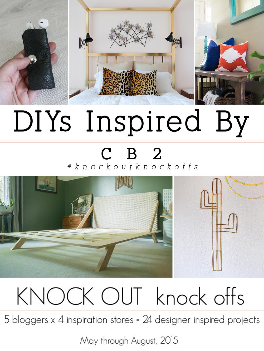 Inspired DIYs By CB2