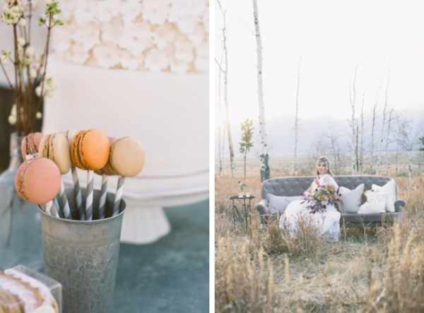 8-Jackson-Hole-wedding-inspiration-macarons-and-lounge