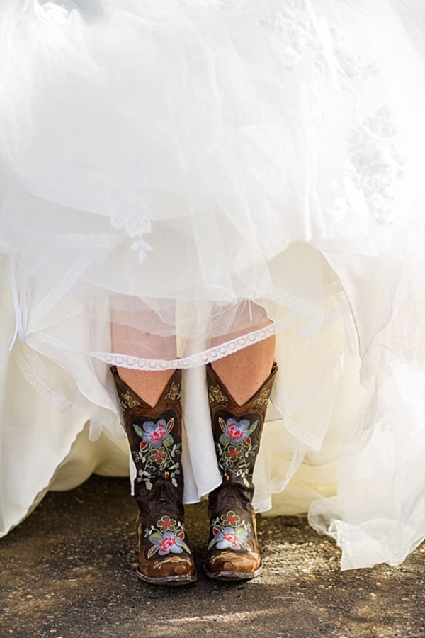 8-painted-cowboy-boots-Devil's-Thumb-Ranch-Wedding-INphotography