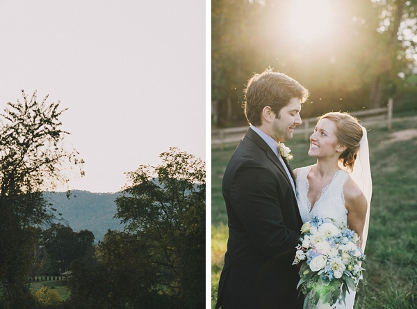 western North Carolina mountain bride and groom
