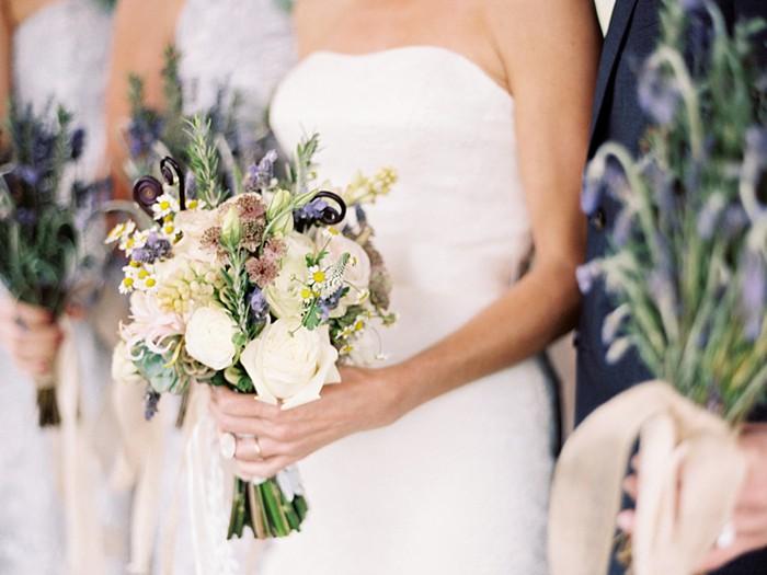 rustic lavender bouquet