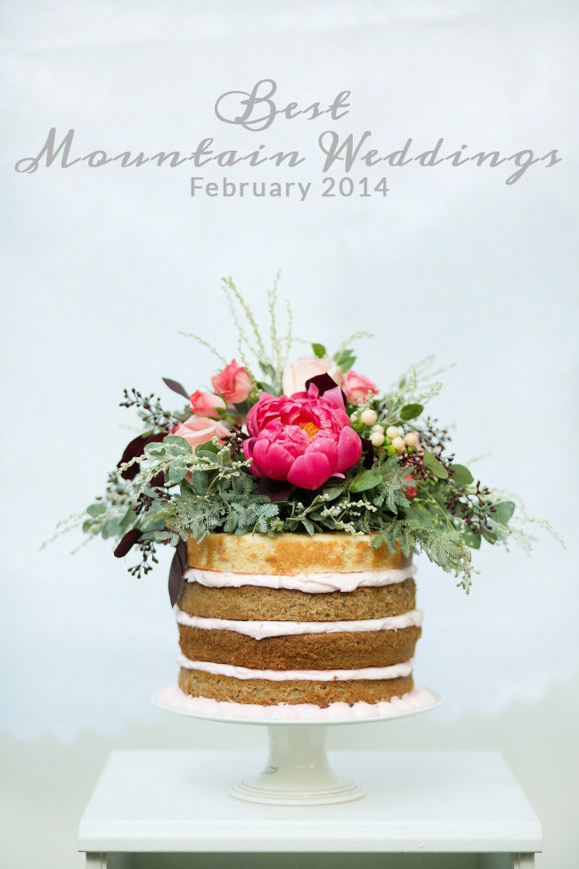 Best Mountain Weddings for February 2014