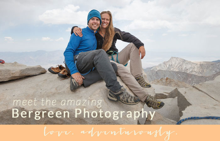 Bergreen Photography | love. adventurously.