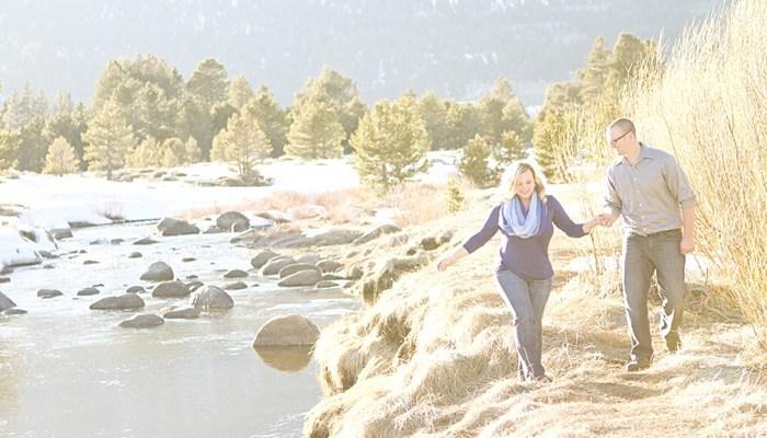 Melissa + CJ's Lake Tahoe Engagement Session