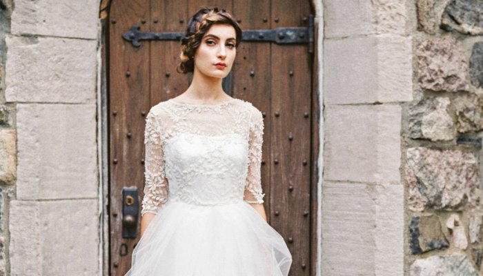 Sareh Nouri Fall 2015 Bridal Collection   Picks for Mountain Brides