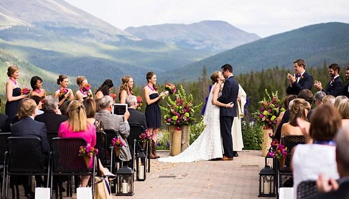 Colorful Breckenridge Wedding at Ten Mile Station