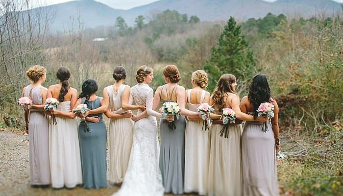 Pretty Woodland Wedding in Cherokee National Forest