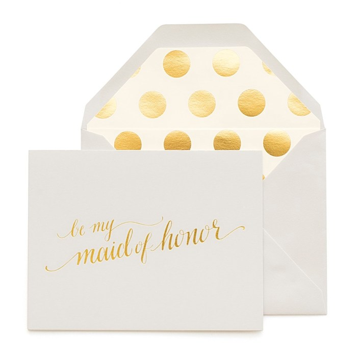 JCREW + Paper Sugar Be My Maid Of Honor Ideas
