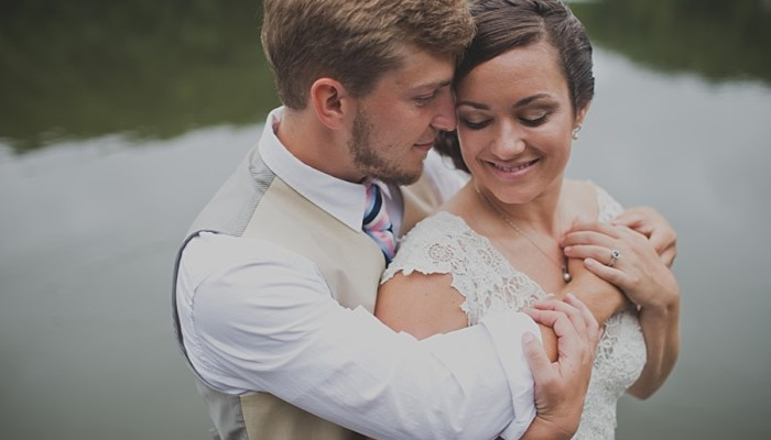 Sweet and Honest Mountain Elopement at Lake Lure