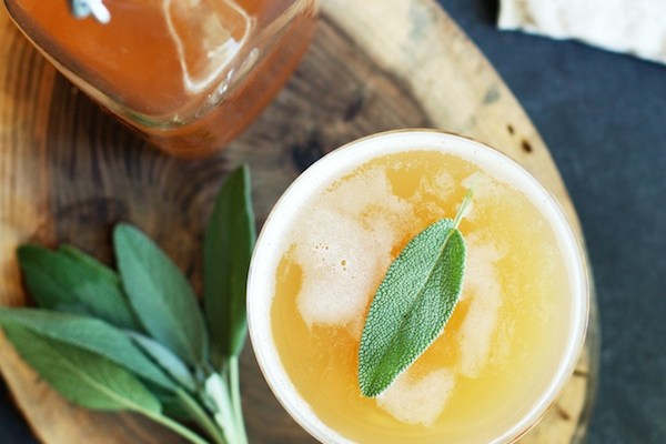 Citrus and Sage Signature Drink Inspiration and Recipe