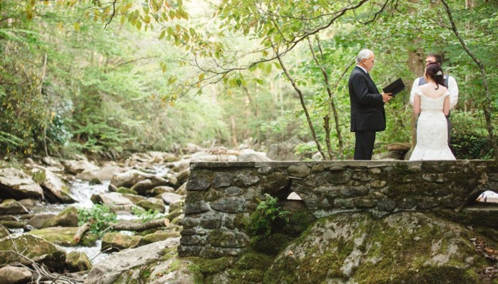 Woodsy Smoky Mountain Elopement