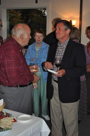 Left-right: Ralph Mumma, MNC Director Emeritus; Carol Mumma; George Henning, Past MNC Director