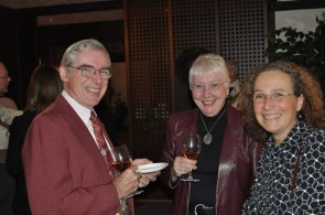 Left-right: E. Alan Cameron, MNC Director; Jule Cameron; Linda Gall