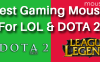 Mouse for LOL and DOTA 2